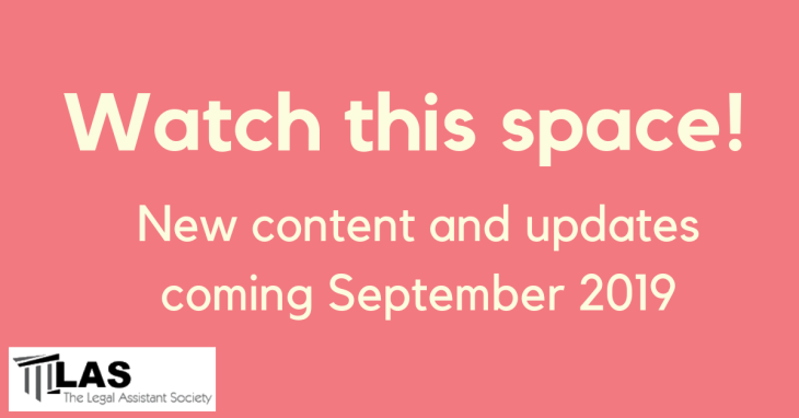 Watch this space!